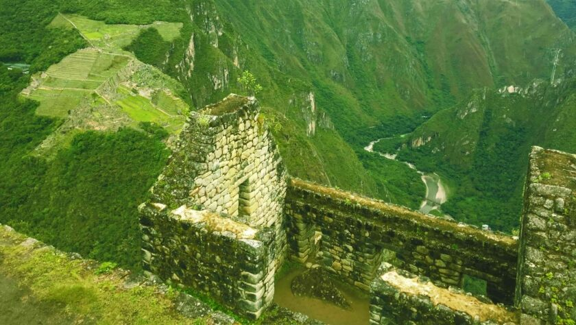 Buildings at Huayna Picchu