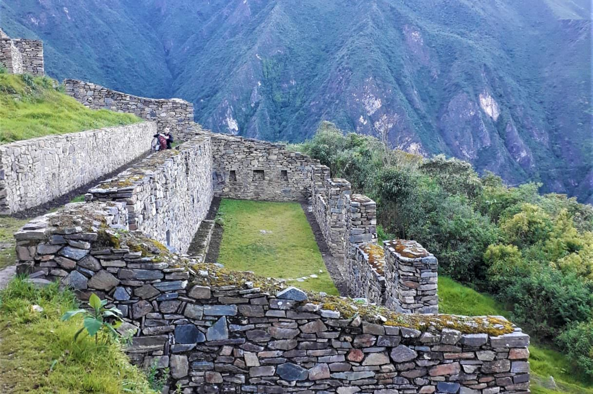Buildings in Choquequirao