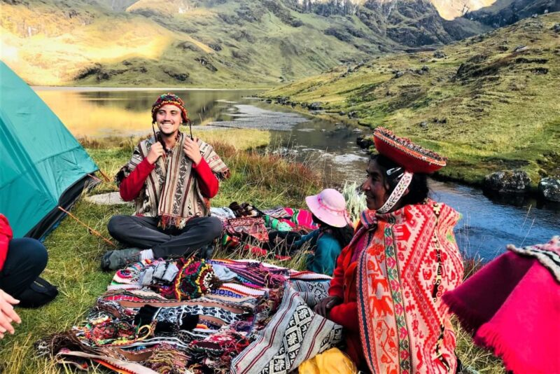 Local woman in Lares Valley