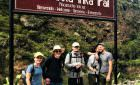 Start of the Luxury Inca Trail