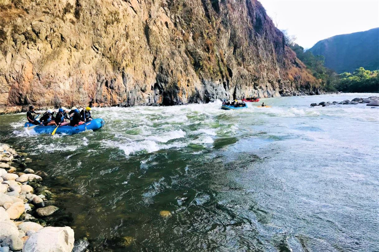 River Rafting on the Inca Jungle