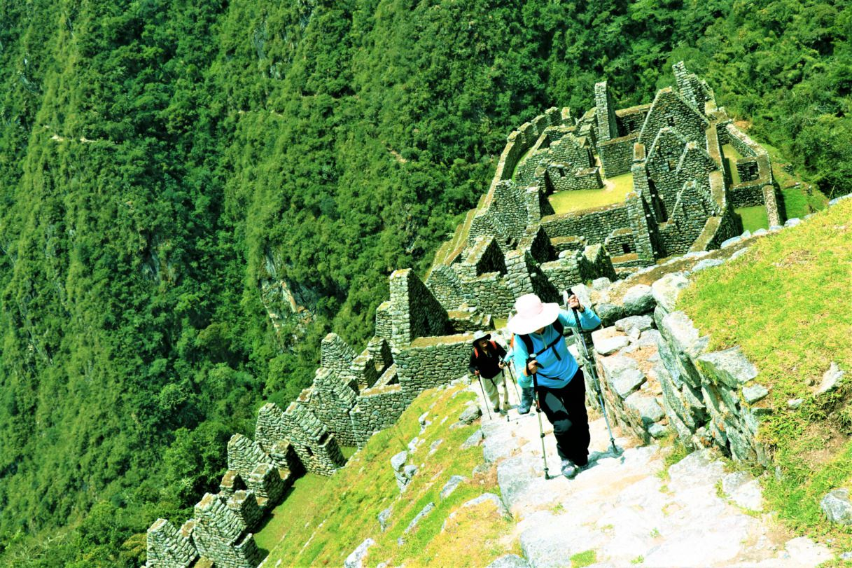 Stairs during the Inca trail