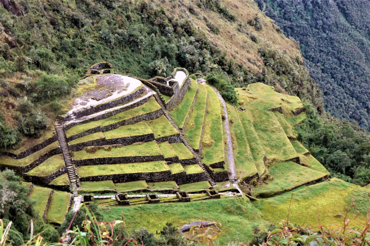 Ancient sites on The Inca Trail
