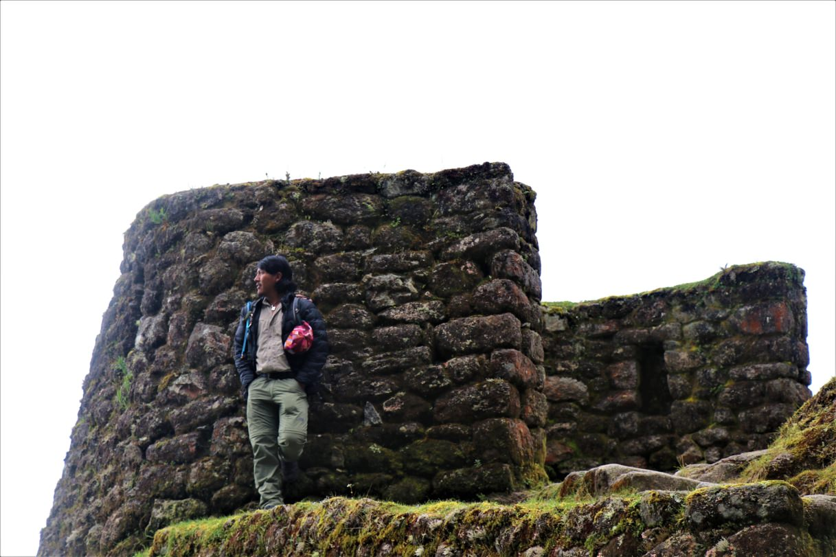 Our Inca trail Guide, Raymer