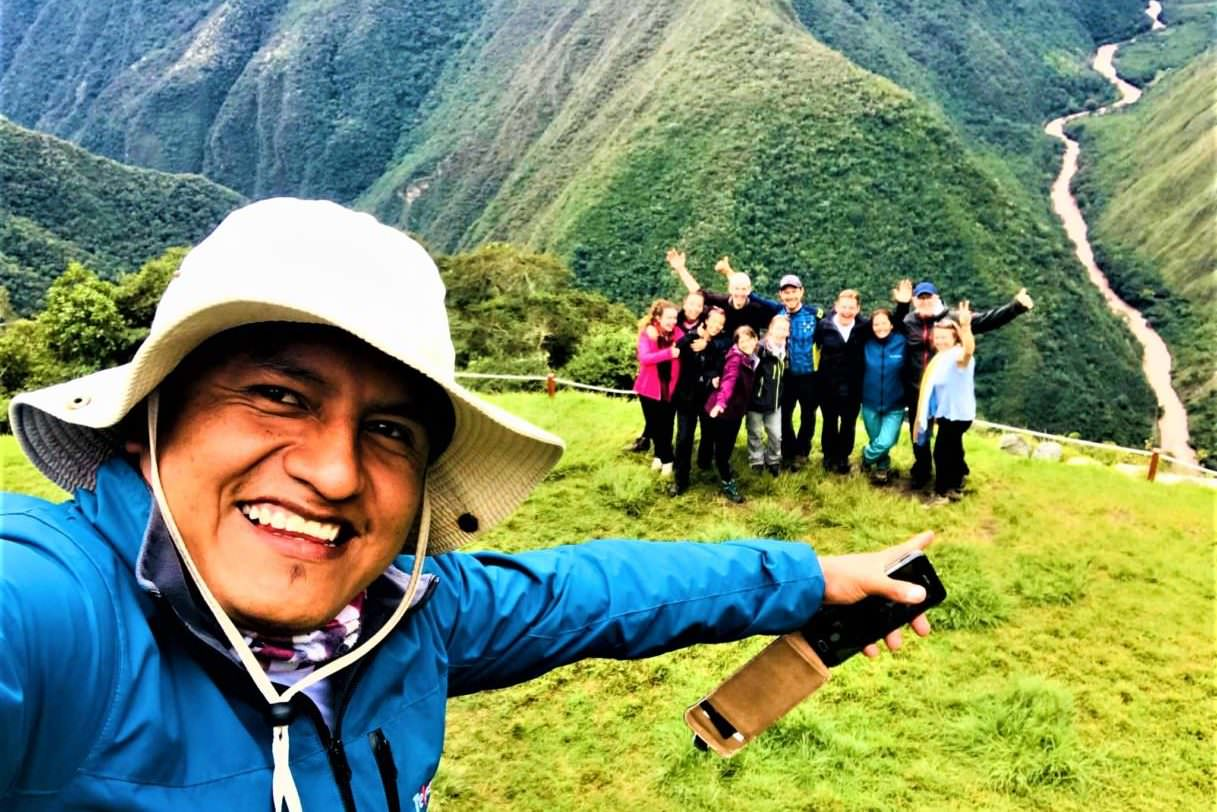 Our Inca trail Guia Charly
