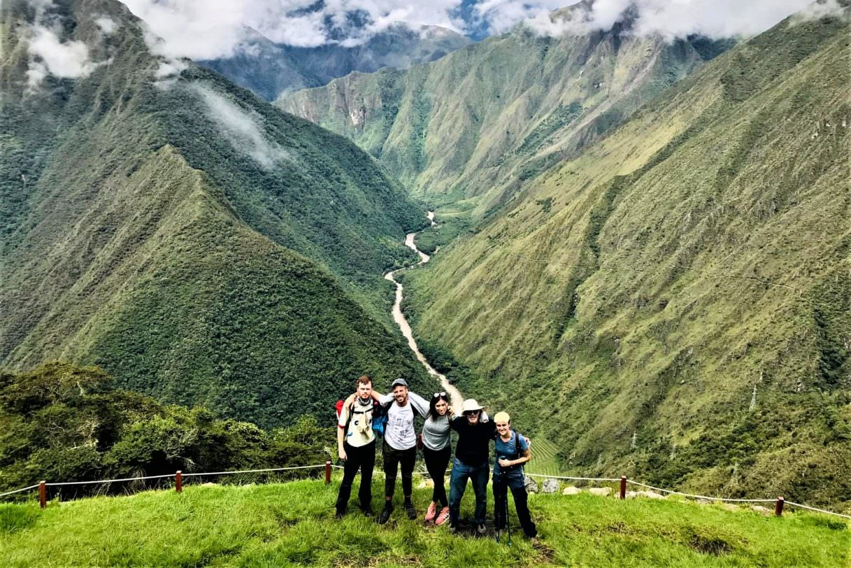 Views of the Short Inca Trail