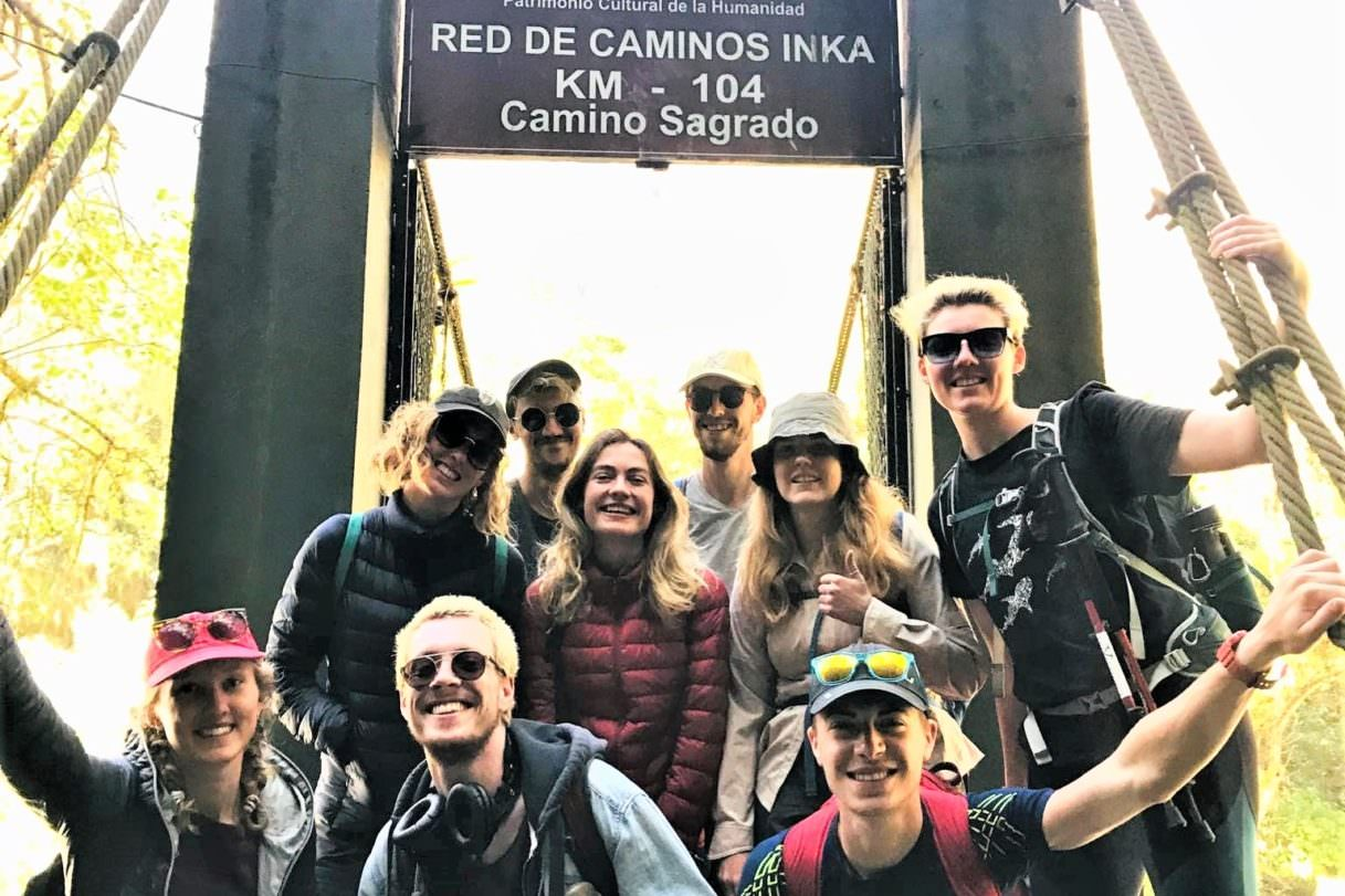 Start of the Short Inca Trail