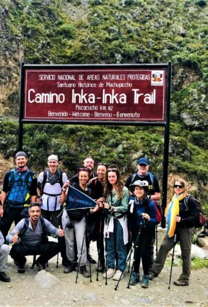 Start on the Inca Trail to Machu Picchu
