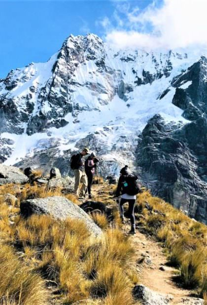 Salkantay Pass - Salkantay Trek Luxury Tour