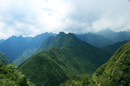 View of the Mountains, Short Inca Trail